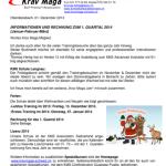 Krav Maga Infobrief 1 Quartal 14_thumb